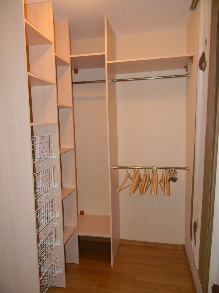 Compact dressing room